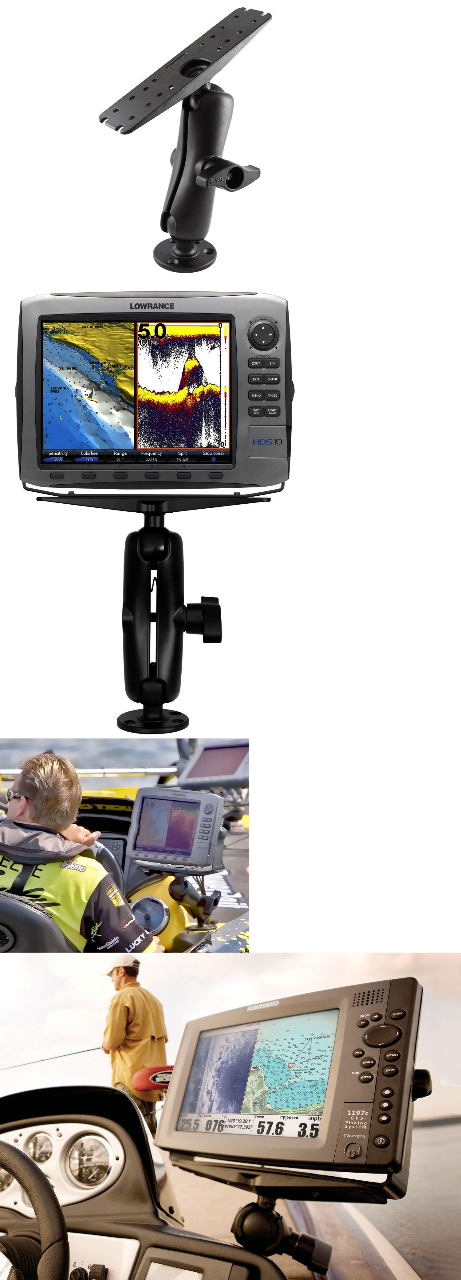 GPS Holders and Mounts Ram D 111 Mount Long For Garmin Humminbird