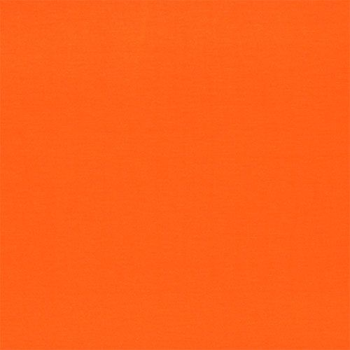 Bright Orange Solid Jersey Rayon Spandex Knit Fabric Vinyl Fabric Yellow Fabric Orange