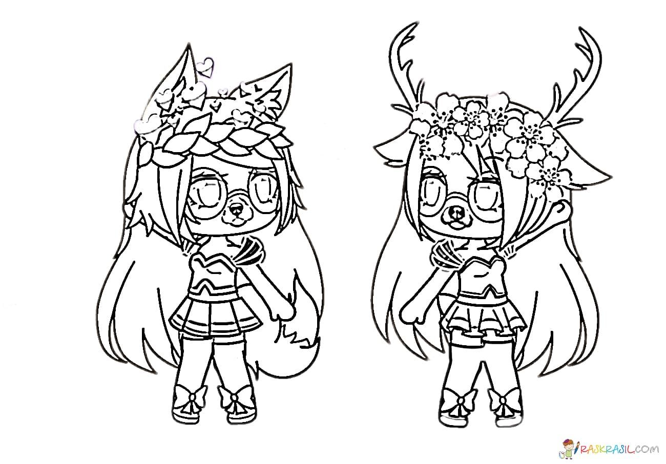 Gacha Life Coloring Pages Unique Collection Print For Free Unicorn Coloring Pages Coloring Pages For Girls Abstract Coloring Pages