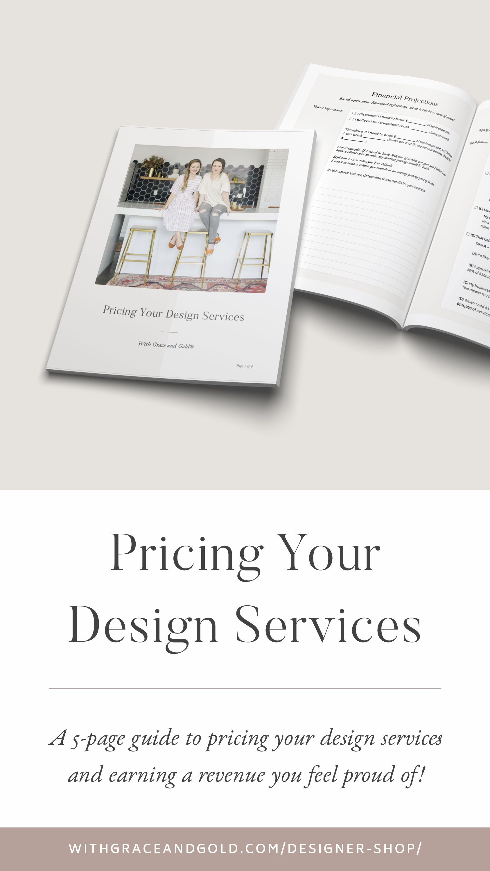 Pricing Your Design Services For Graphic And Web Designers By With Grace And Gold Graphic De Graphic Design Business Web Design Pricing Graphic Design Tips