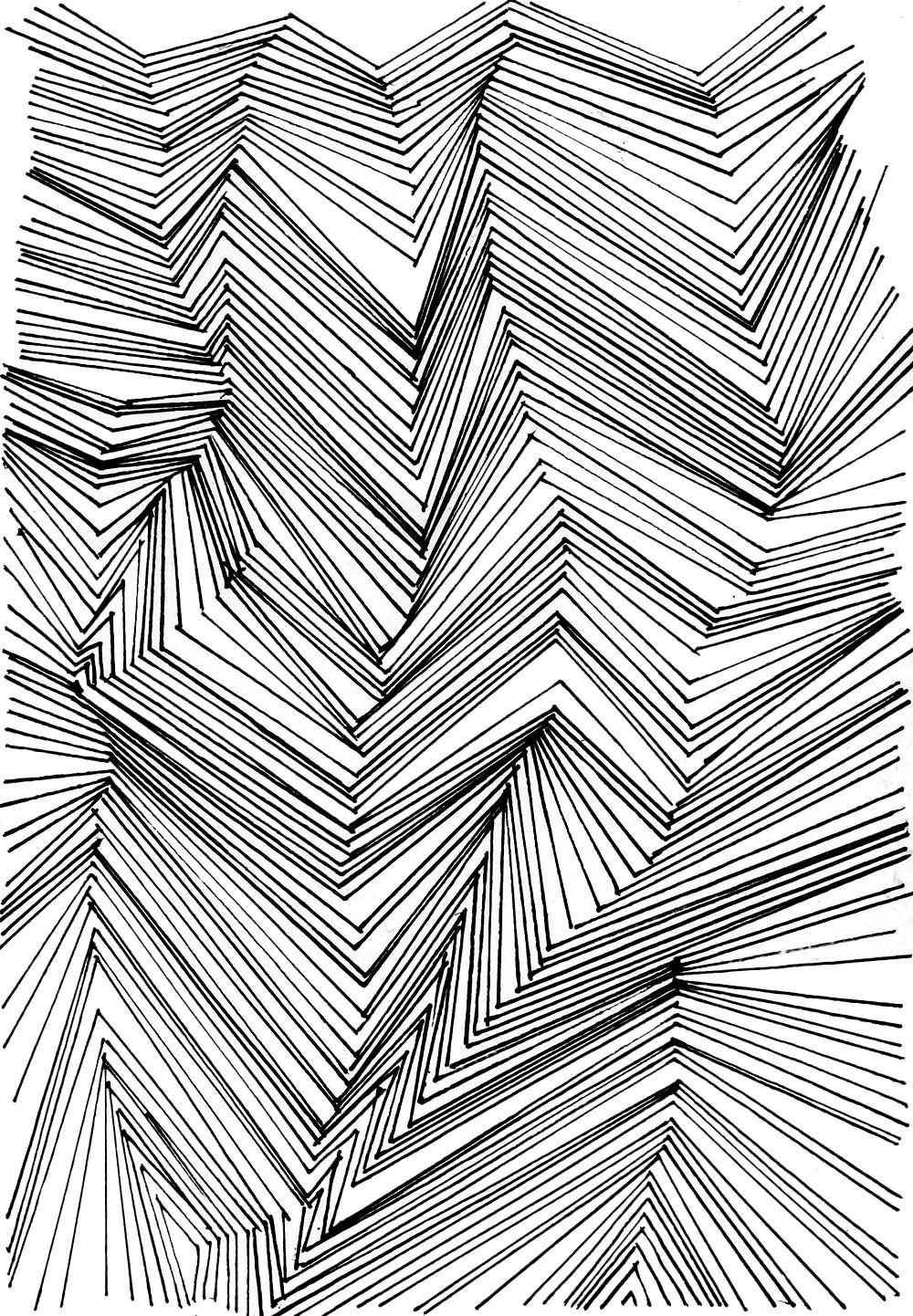 Muster Zeichnen Meditativ Oder Einfach Nur Langweilig Design