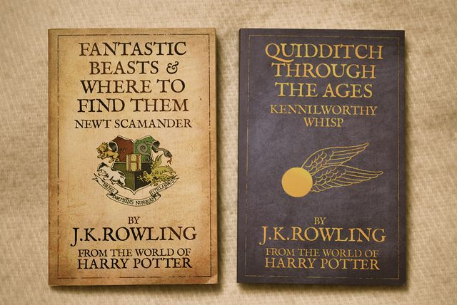 Harry Potter School Books Need These For My Bookshelves
