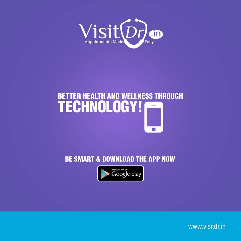 Download Visitdr App which makes you easy to approach