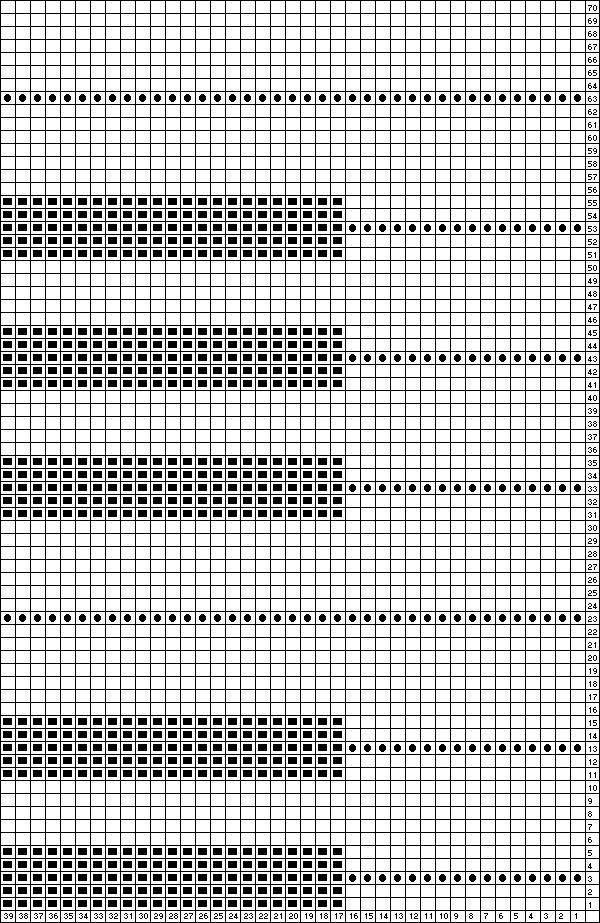 piano keys graph | Weihnachten | Pinterest | Häkeln, Stricken und ...