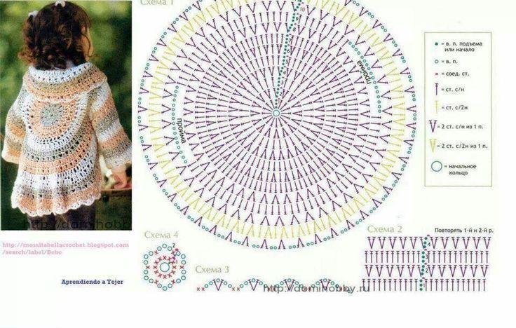 Cirkelvest Haken Kind Patroon Google Zoeken Crochet Clothes