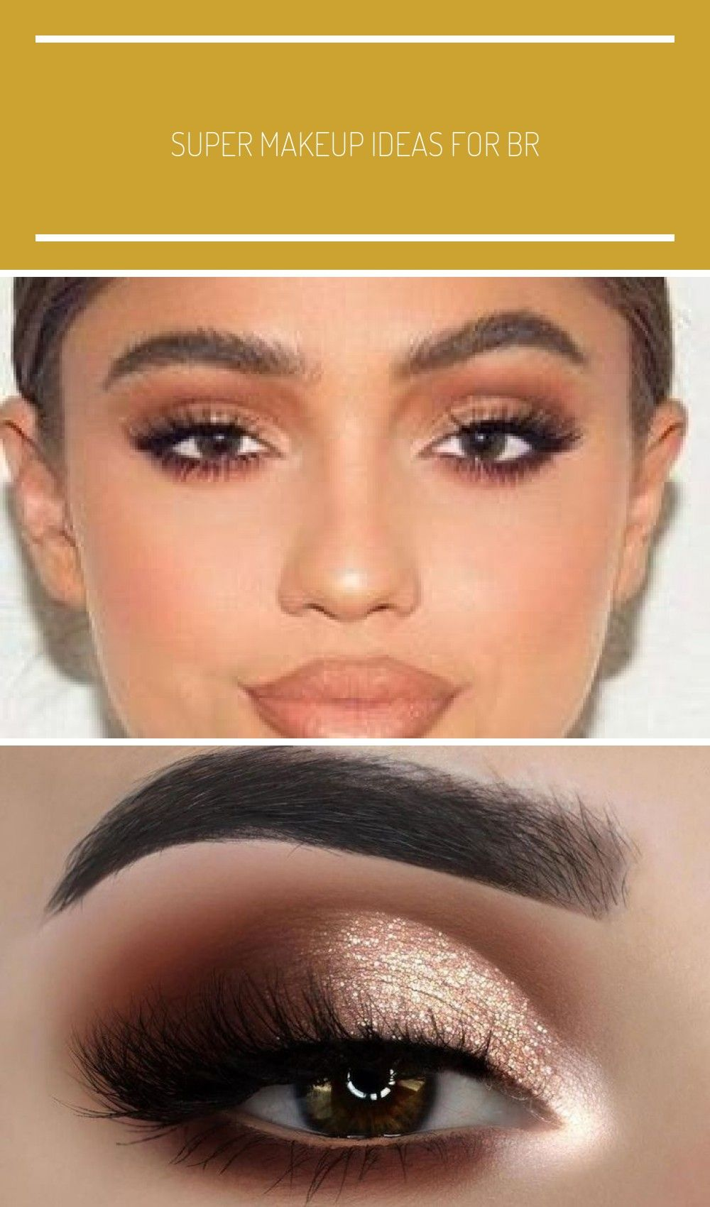 Super makeup ideas for brown eyes prom night make up 52 ideas - up ideas for brown eyes night