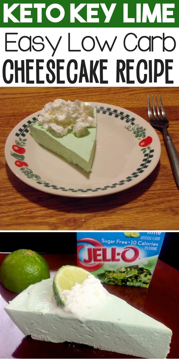 keto no bake key lime cheesecake recipe