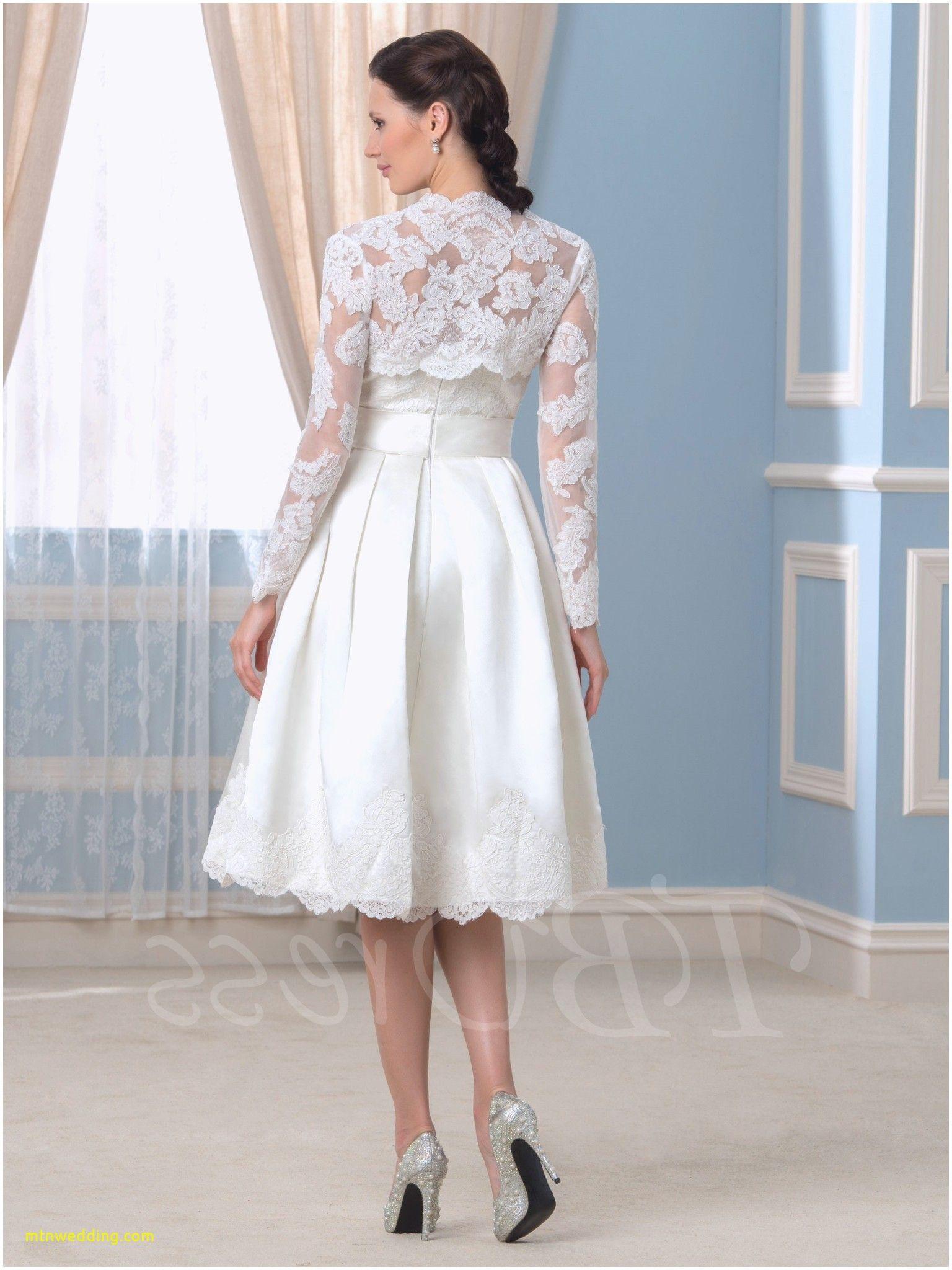 Lovely 3 4 Sleeve Wedding Dress Tea Length Tea length
