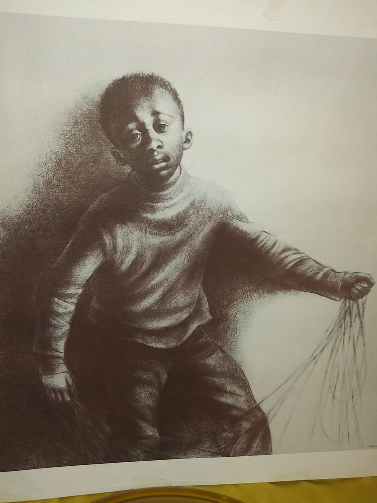 Charles W. White Study for Children's Games (197576