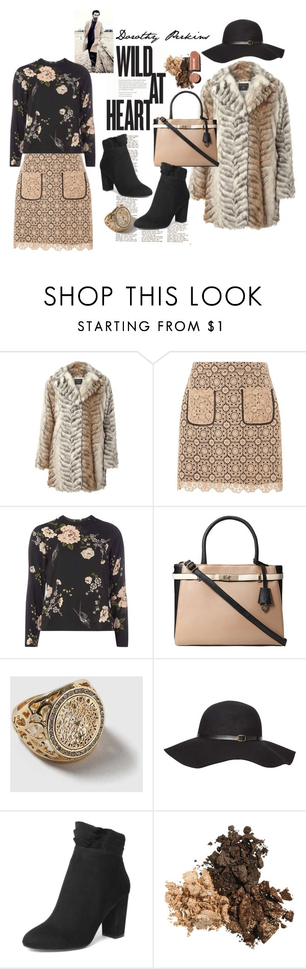 """""""Dorothy Perkins Wild At Heart"""" by lolly-p ❤ liked on Polyvore featuring Dorothy Perkins"""