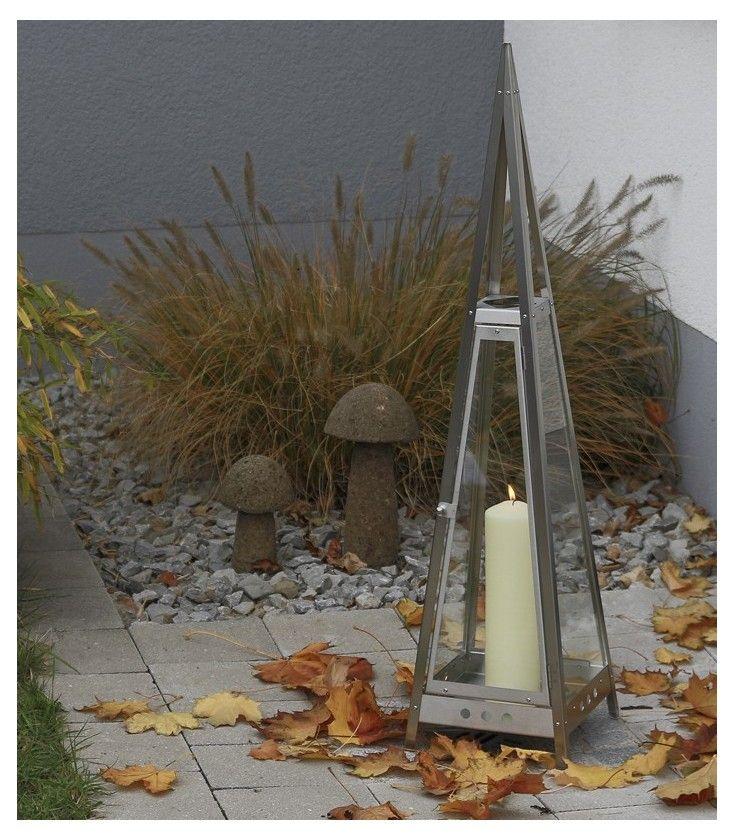Gartenlaterne Pyramide Aus Edelstahl 97 Cm Laterne Garten Wohnen Und Garten Laterne
