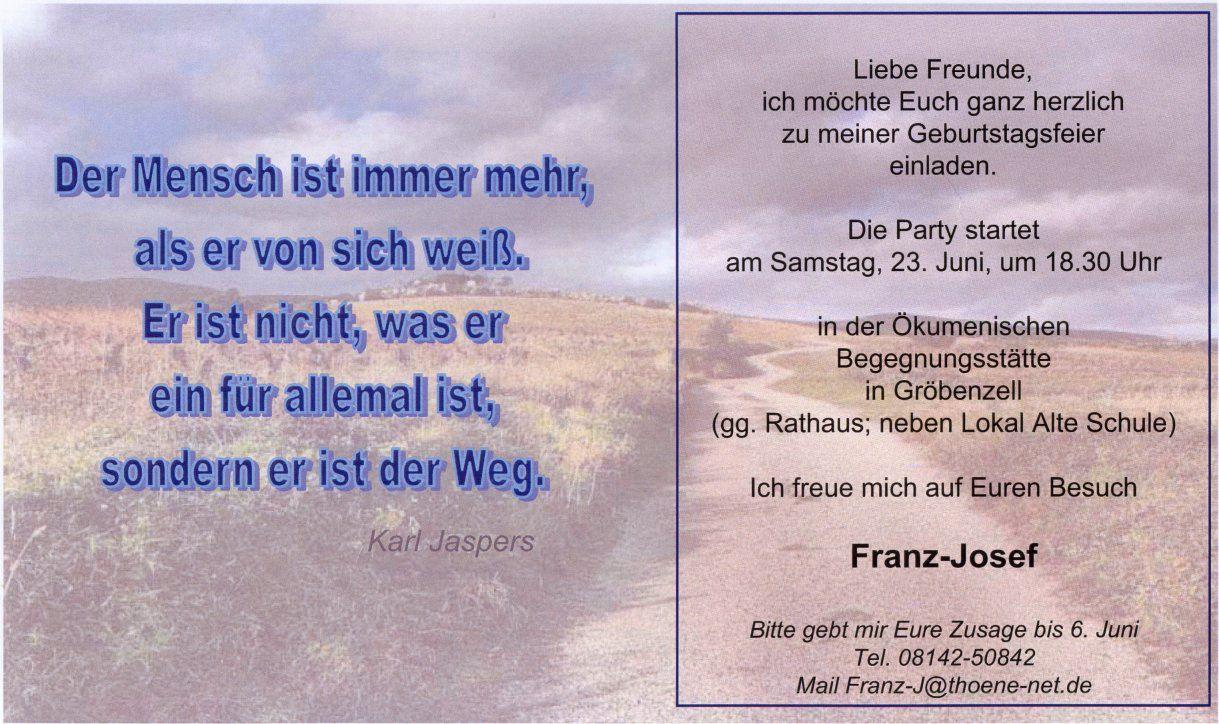 Einladung Zum 50 Geburtstag Bayrisch | EINLADUNGEN GEBURTSTAG | Pinterest