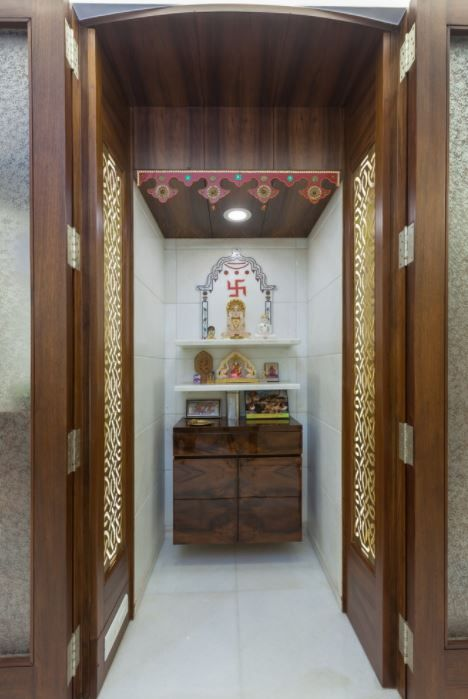 Check Out Our Latest Pooja Room Designs For Indian Homes. Get Inspiration  From These Beautiful Designer Pooja Rooms While Designing Your House.