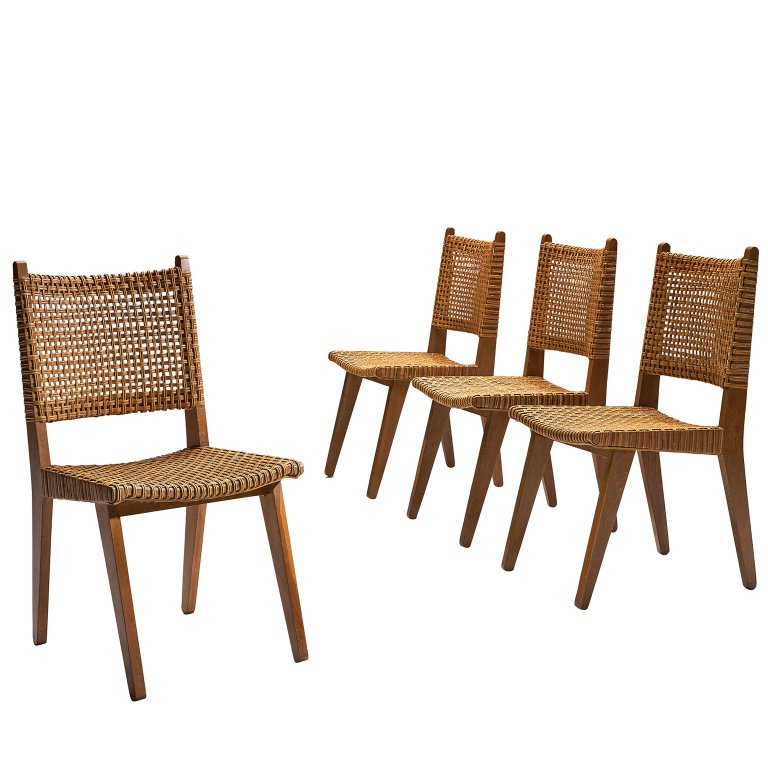 Tremendous Dutch Wicker Dining Chairs 1950S In 2019 Products Ocoug Best Dining Table And Chair Ideas Images Ocougorg