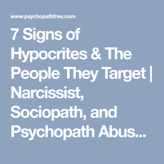 7 signs of a psychopath