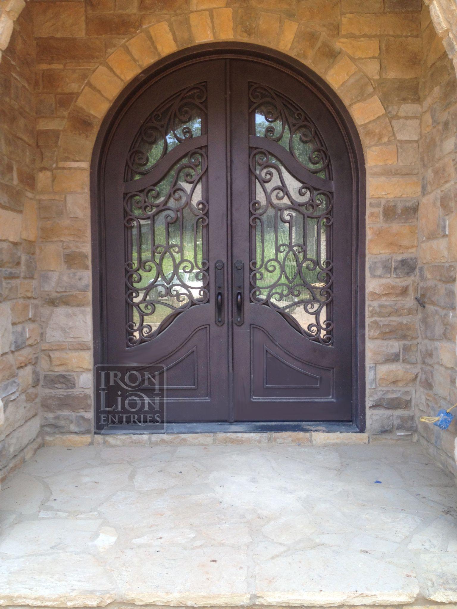 Ile Iron Door Custom Iron Door Wrought Iron Door Iron Entry Door