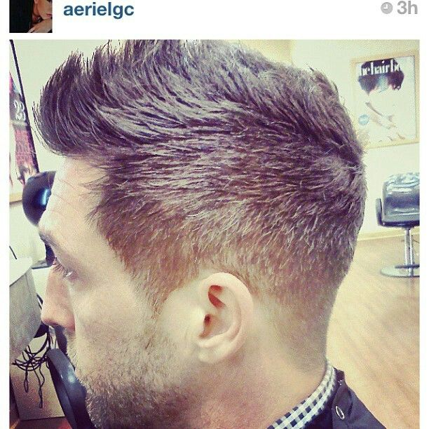 Men S Cut For This Hair Cut I Would Use The Clippers And Go Around