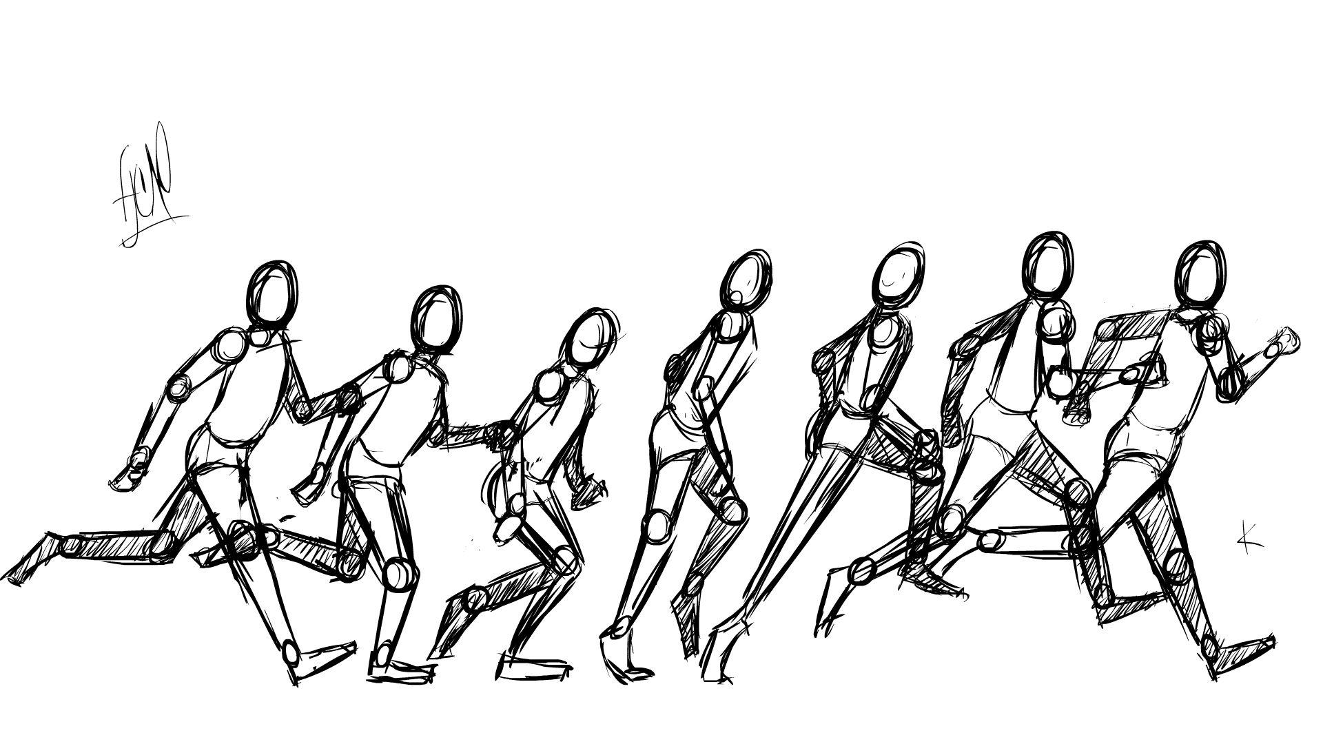 Смешные картинки, картинка анимация бега