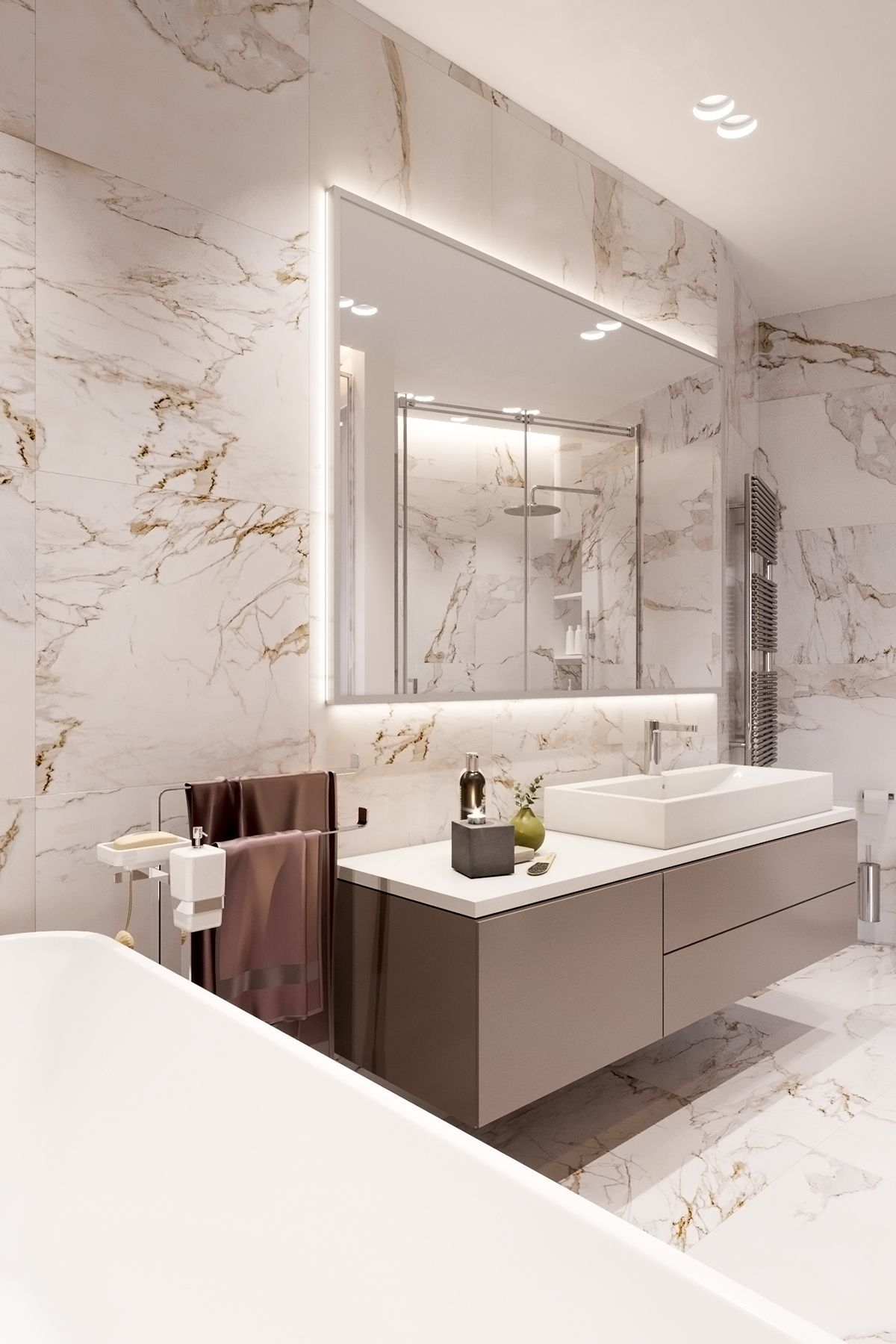 Luxury Master Bathroom Designs Trendecors