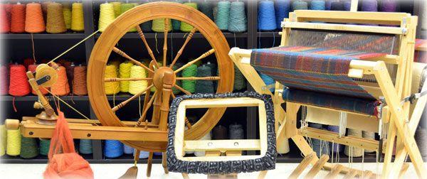 The Woolery - Frankfort, KY - Spinning Wheel, Weaving