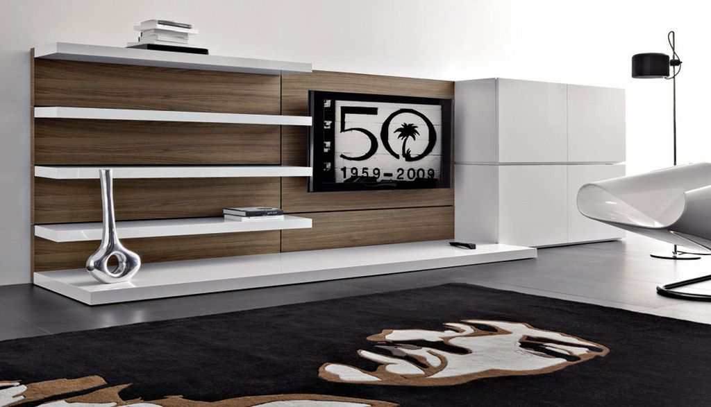 Modern Minimalist Wall Unit With Tv Stand And Cabinet Http