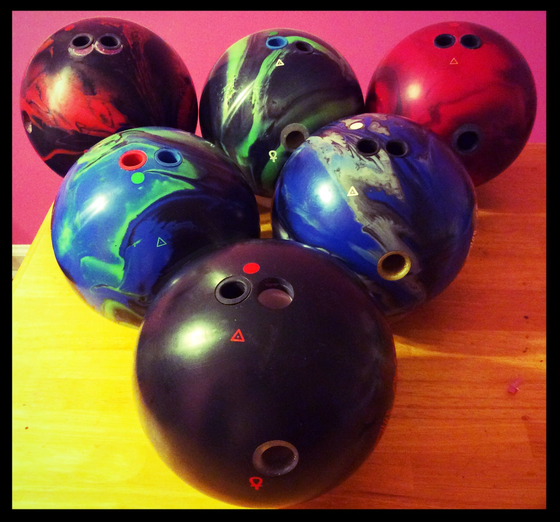Pyramid Asymmetrical Balls Minus The Chosen Path Solid Ball Bowling Ball Pyramids