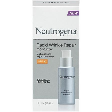 Neutrogena Rapid Wrinkle Repair Moisturizer, SPF 30, 1 fl oz