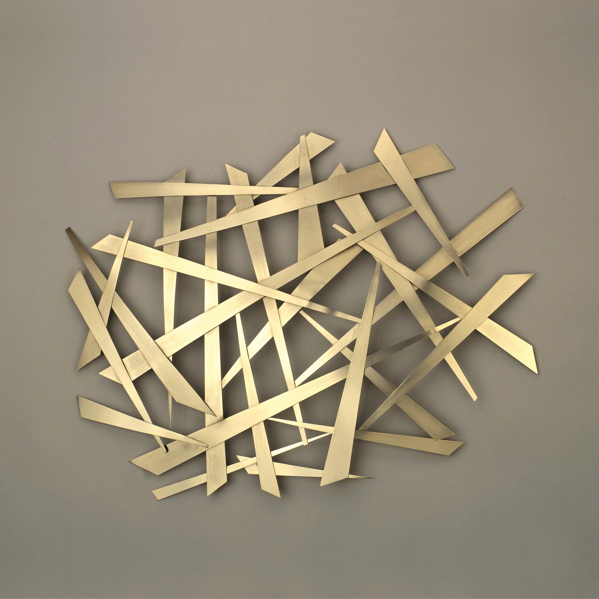 Wall Sculptures Studiolx Criss Cross Art By Nova