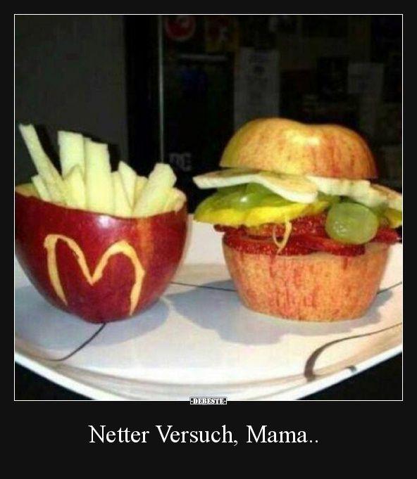 Netter Versuch, Mama.. | Lustige Bilder, Sprüche, Witze ...