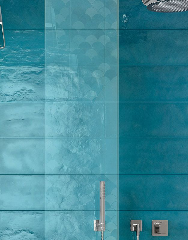 Shades Light Blue Gloss 20x60 Floor And Wall Tiles Tilespace