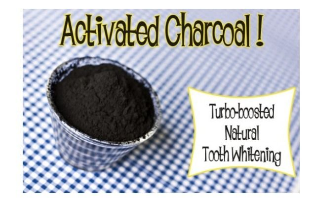 Charcoal Remedies Part III: Amazing Turbo Boosted, All Natural TEETH WHITENING!