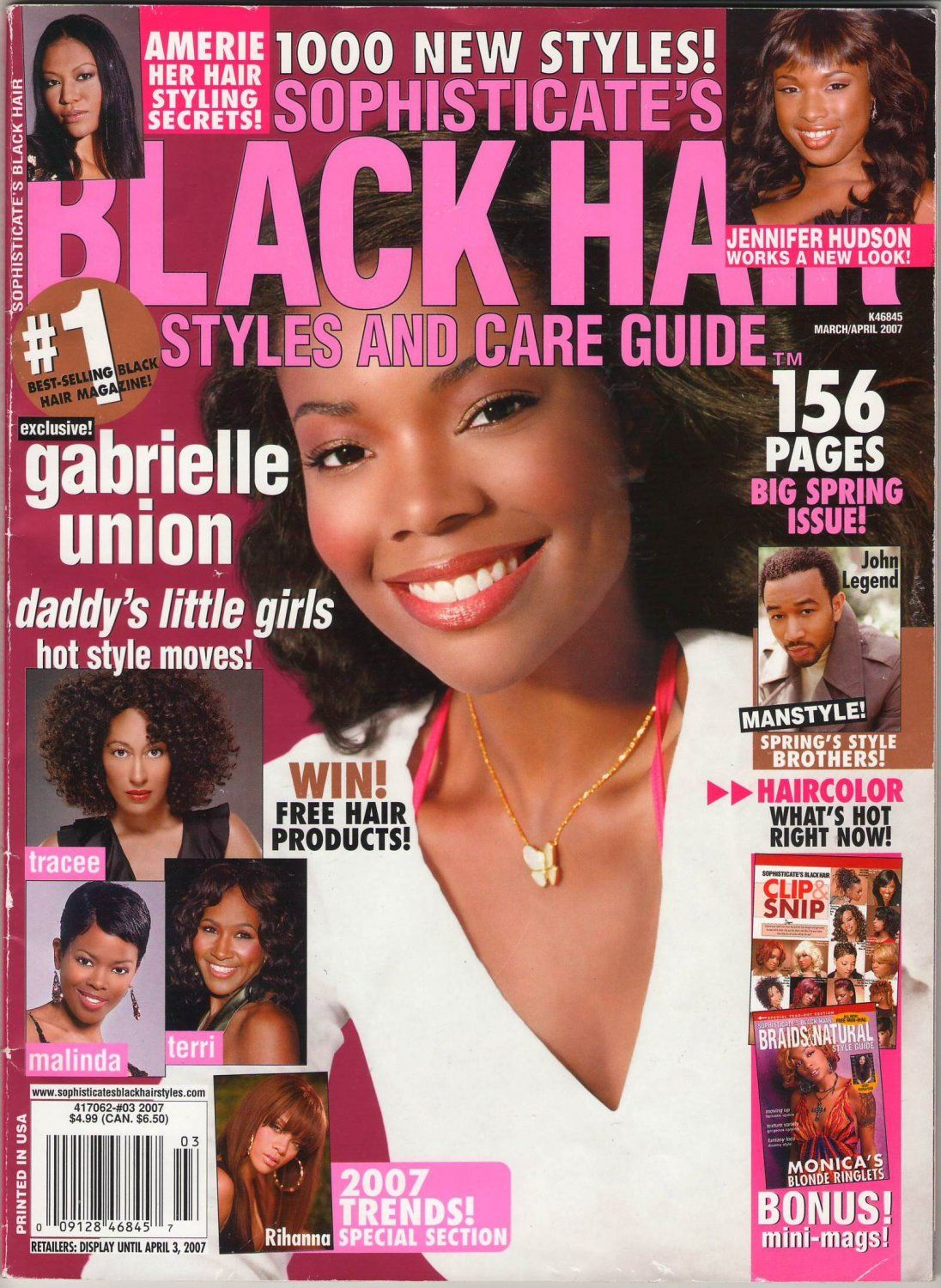 Sophisticate S Black Hair Styles And Care Magazine Guide Amerie Her Hair Styling Secrets Black Hair Black Hair Magazine Black Hair Care