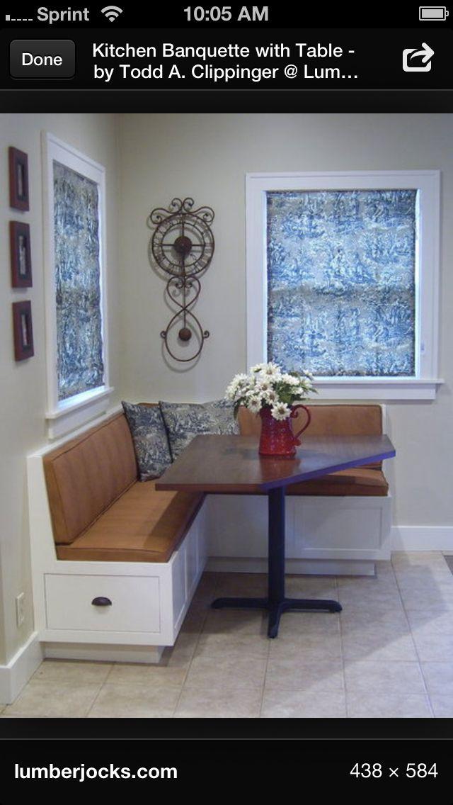 Banquette proyectos para casa - Mesa esquinera cocina ...