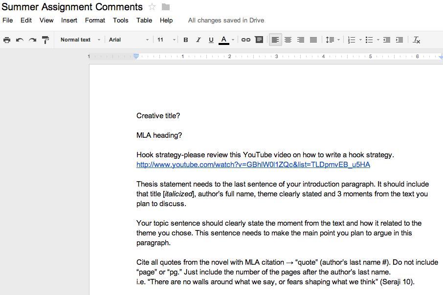 Google Docs Grading Tips Tricks Essay Tips Writing Strategies Google Docs