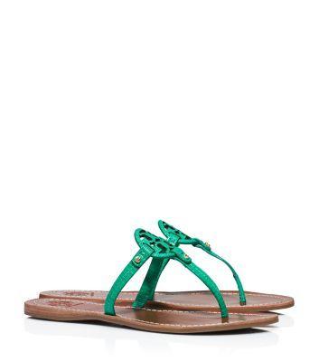 0c90e715133bb Tory Burch Mini Miller Flat Thong Sandal