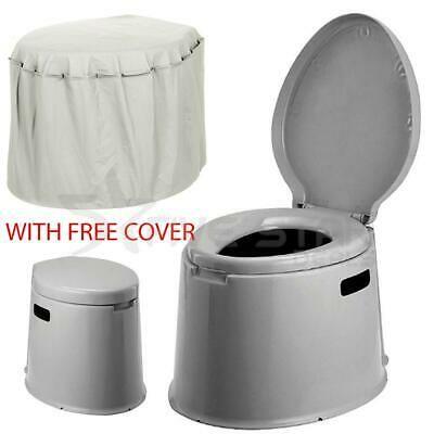 5L Portable Camping Loo Compact Toilet Potty Caravan Picnic Fishing Festivals