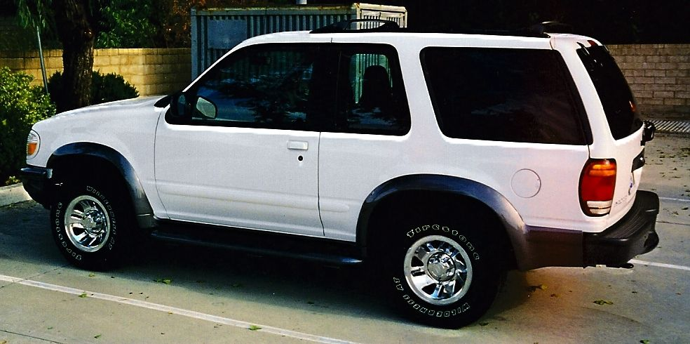 1998 Ford Explorer Sport Ford explorer sport, Ford