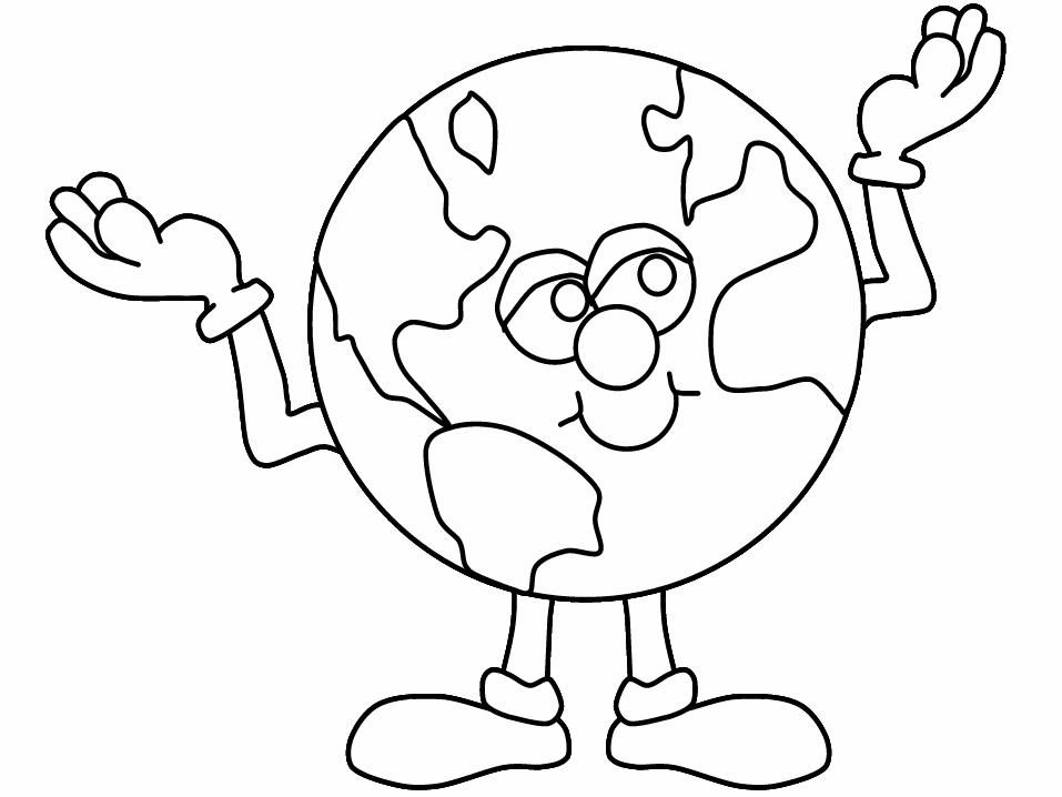 Earth Day Coloring Pages Preschool and Kindergarten Earth and