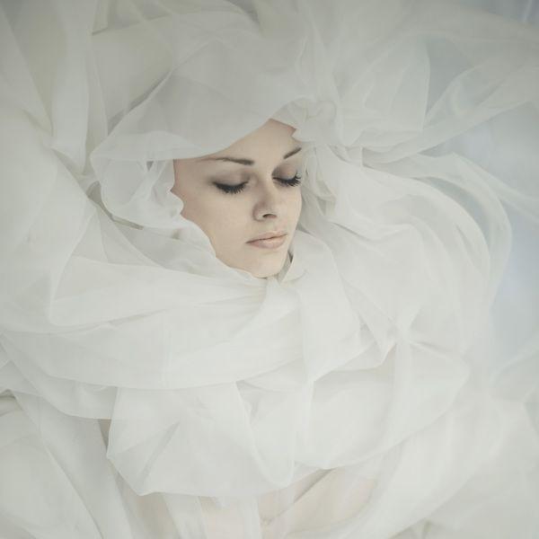 portrait by Andrea Koporova, via Behance