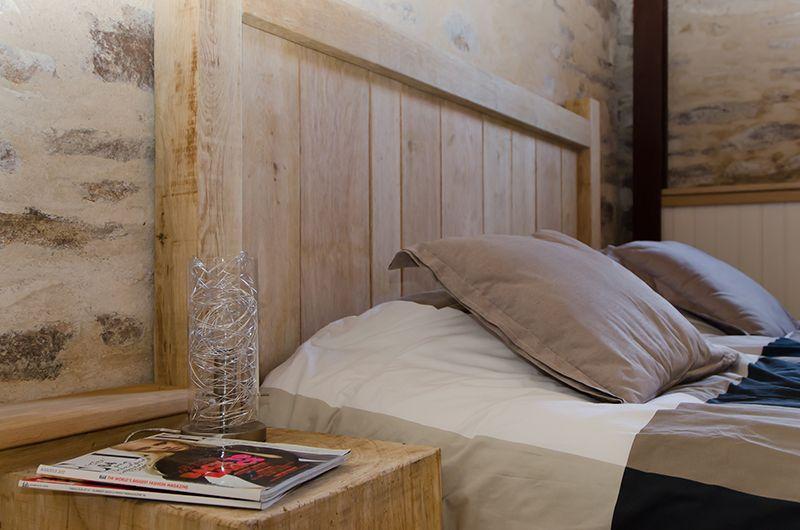 Slaapkamer vakantiehuis Provence