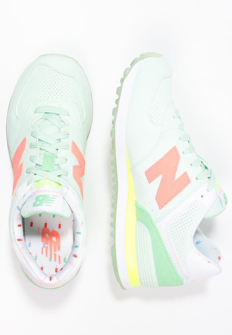 New Balance WL574 - Trainers - seafoam green uqCD1
