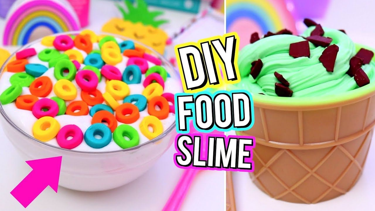 Diy Food Inspired Slime Crazy Slime Ideas You Need To Try How To