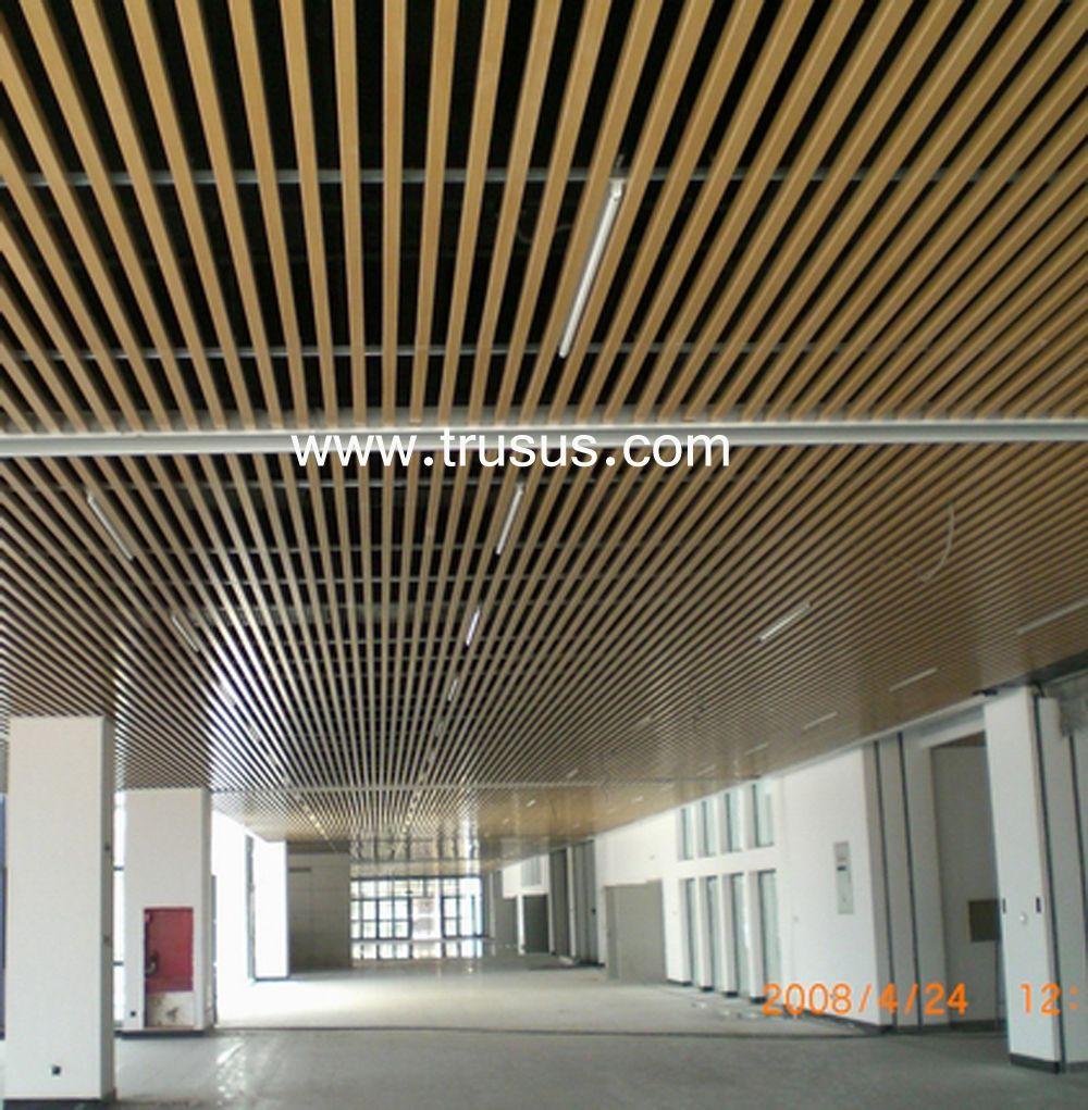 Trusus Aluminum Ceiling Tiles Plafond
