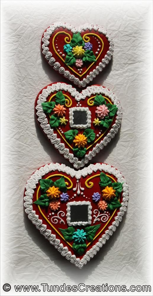 Traditional Hungarian Gingerbread Hearts Hungarian In 2019