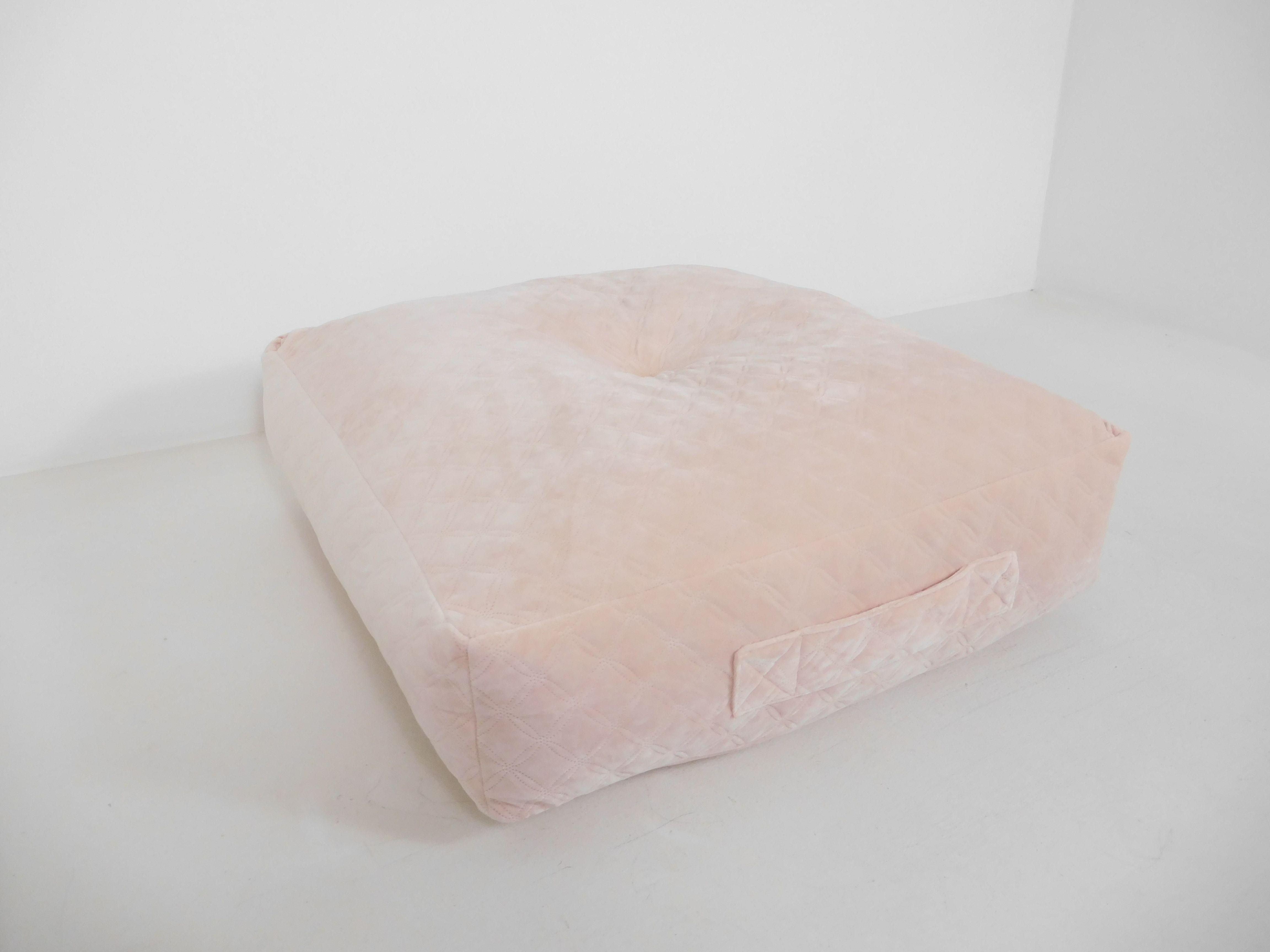 Better Homes & Gardens Everly Velvet Box Floor Cushion