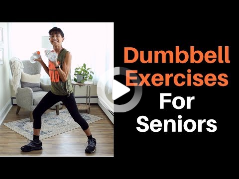 free weight workout for seniors in 2020  dumbbell workout