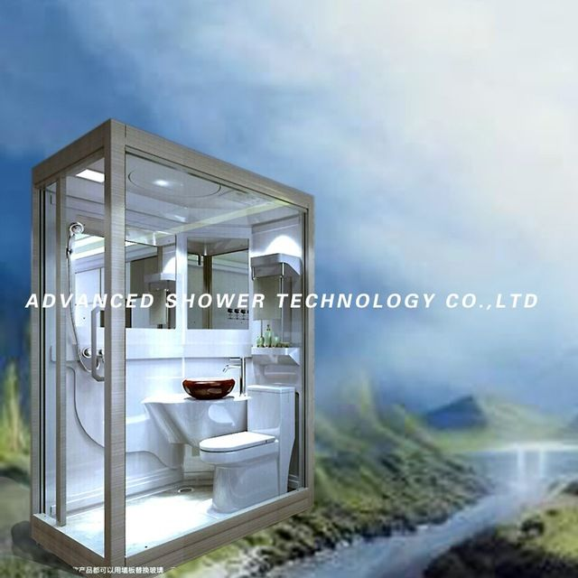 Source Economic prefab bathroom shower cabin for showering and ...