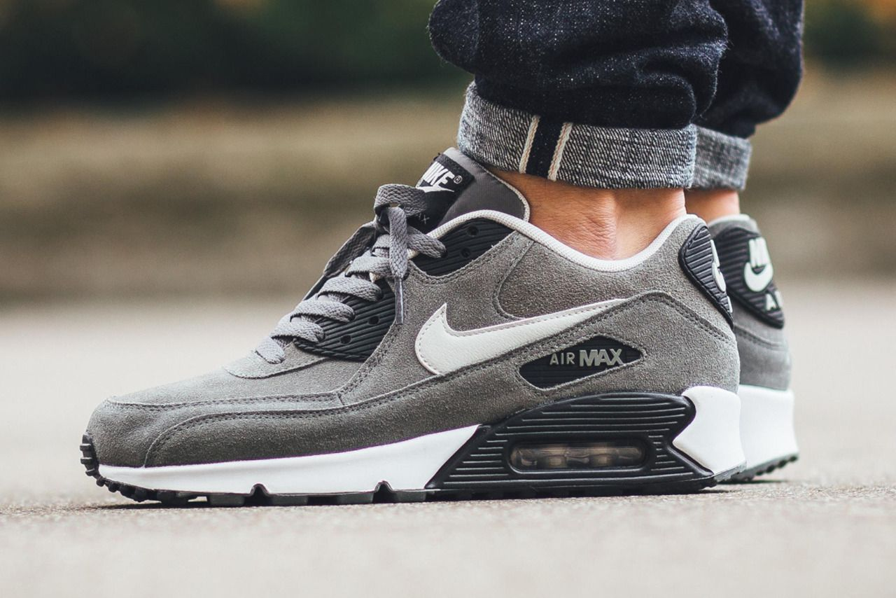 best service 17ee2 63dcc ... Sportswear Nike Air Max 90 LTR - Tumbled GreyNight Silver (by Titolo)  Buy ...