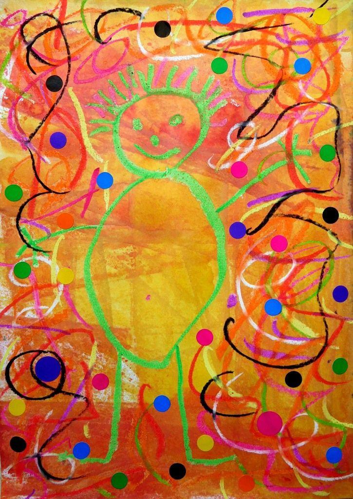 Bonhomme, Pastels et encres - Le tour de mes idées   Dessin bonhomme, Art design et Encre