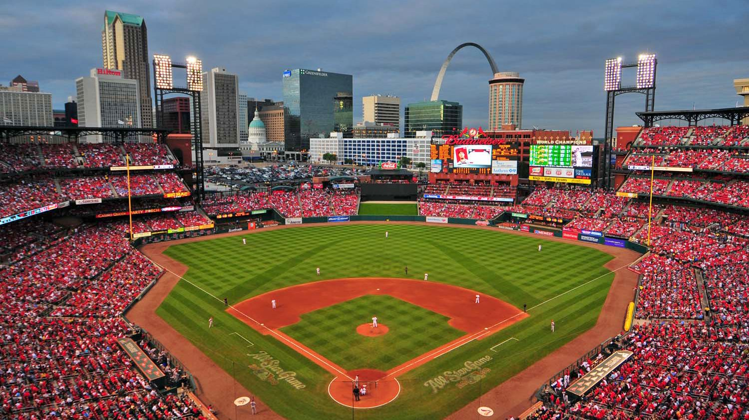 St Louis Busch Stadium Seat Map And Venue Information Busch Stadium Baseball Stadium Baseball